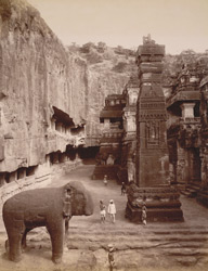 The Kailasa rock-cut Temple, Ellora